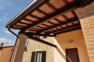 Poly house case in acciaio e legno for Case in acciaio e legno