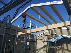 Poly house case in legno e acciaio for Case in legno e acciaio
