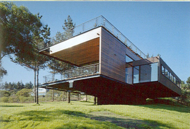 Poly house case prefabbricate case nel mondo - Casa in acciaio e vetro ...